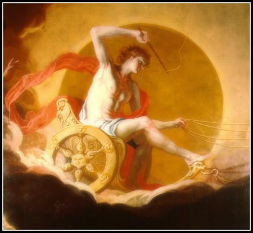 """""""Helios on His Chariot"""" (Detail) by Hans Adam Weissenkircher (Laufen, Germany 1646-1695 Graz, Austria)."""
