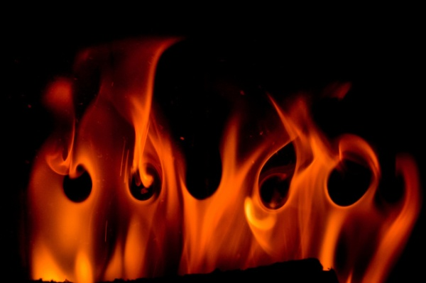 Flames in Poetry Symbolize Love